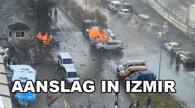 Weer laffe aanslag in Turkije, nu in Izmir