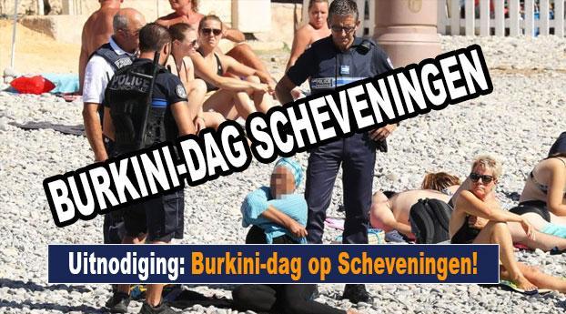 Uitnodiging: Burkini-dag op Scheveningen
