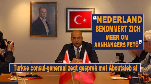 Turkse consul-generaal zegt gesprek met Aboutaleb af