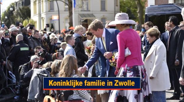 Koninklijke familie in Zwolle