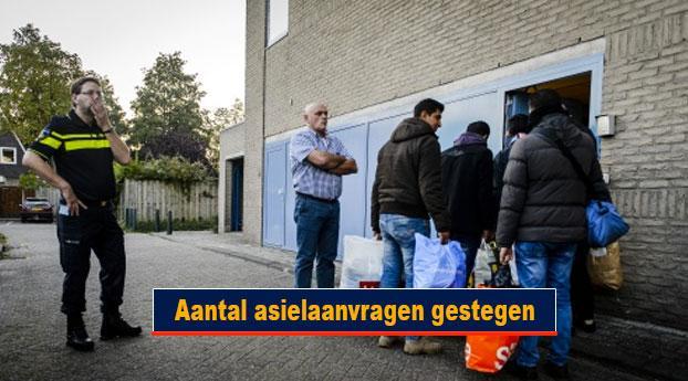 Aantal asielaanvragen gestegen