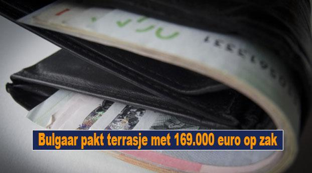 Bulgaar pakt terrasje met 169.000 euro op zak