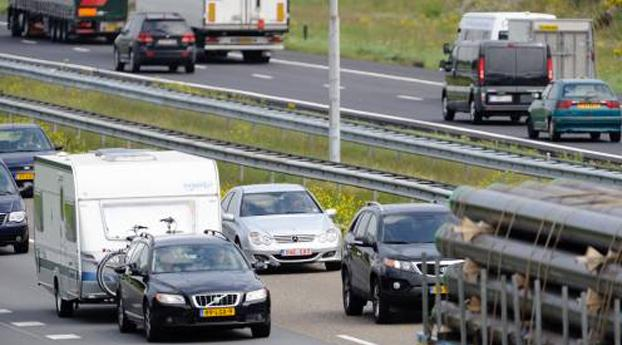 Politie pakt overvallers op A2
