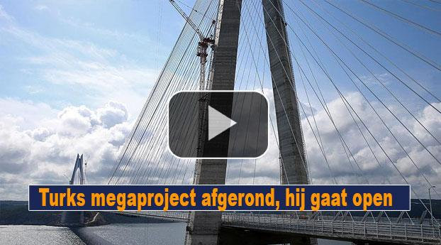 Turks megaproject afgerond, hij gaat nu open