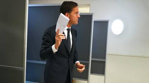 Rutte stemt in Haagse school