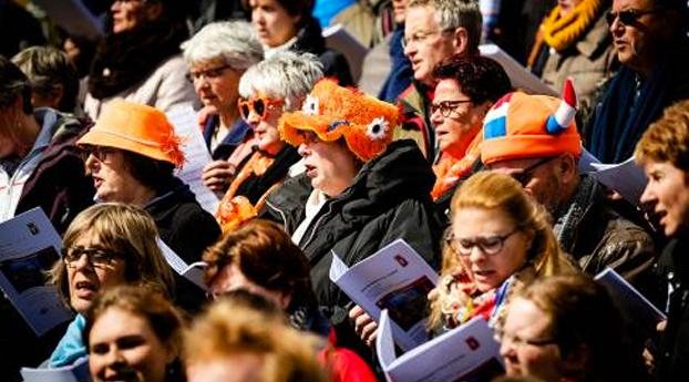Nederland viert Koningsdag