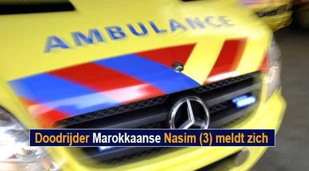Doodrijder Marokkaanse Nasim (3) meldt zich
