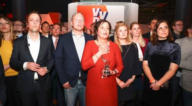 VVD grootste partij, PvdA afgestraft