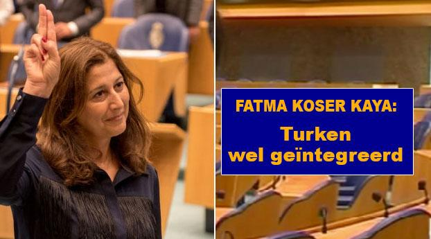 Fatma Koser Kaya: Turken wel geïntegreerd