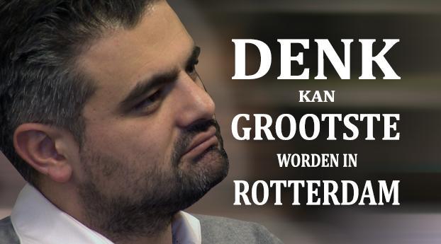 DENK kan grootste worden in Rotterdam