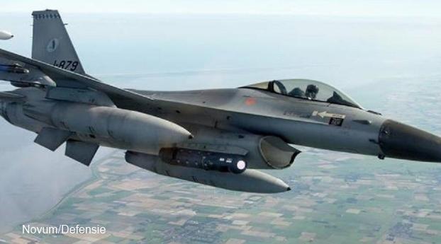 Nederlandse F-16 leidt aanval op IS