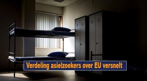 Verdeling asielzoekers over EU versnelt