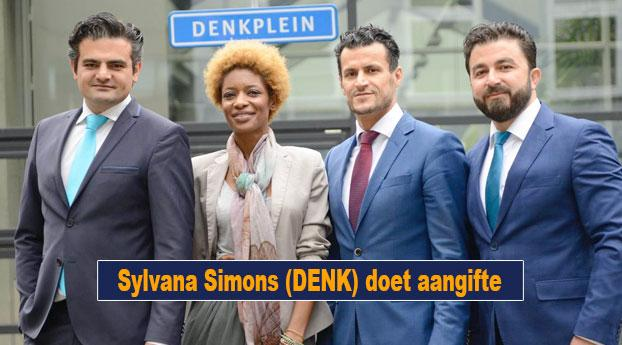 Sylvana Simons (DENK) doet aangifte