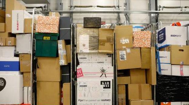 Pakketten PostNL vertraagd door storing
