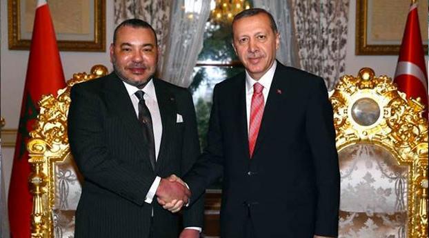 Erdogan nodigt Marokkaanse koning uit voor bezoek aan Turkije