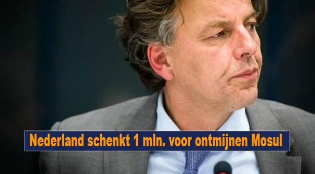 Nederland schenkt 1 mln. voor ontmijnen Mosul