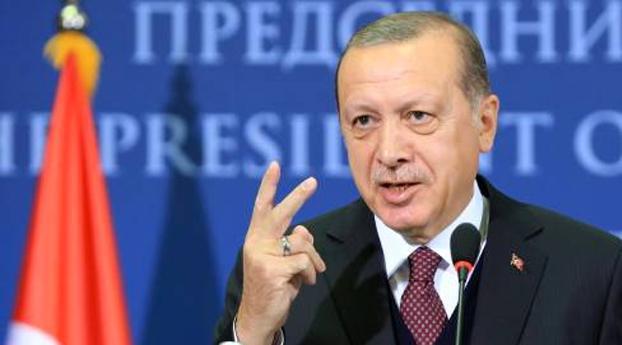Erdogan gaat weer tegen VS te keer
