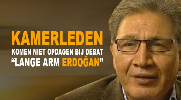 """Debat """"lange arm Erdogan"""" gaat niet door"""