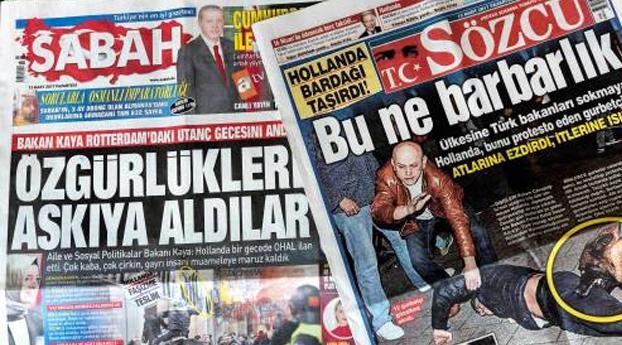 Snelrecht en boetes voor Turkse demonstranten