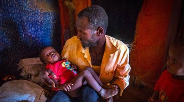 Actie tegen hongersnood boven 10 miljoen