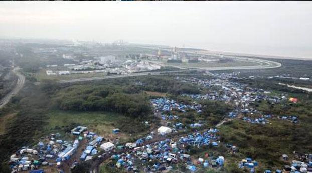Belgische drone speurt naar migranten Calais