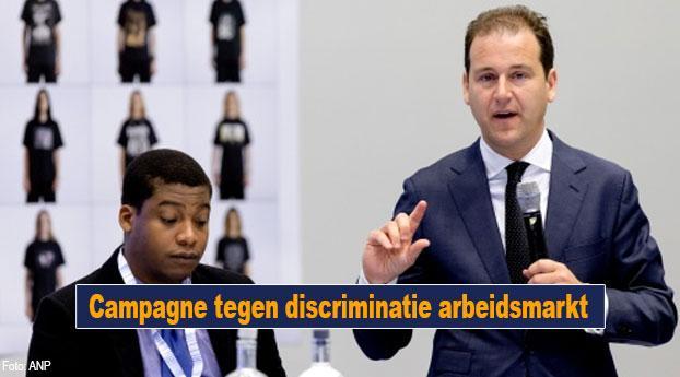 Campagne tegen discriminatie arbeidsmarkt