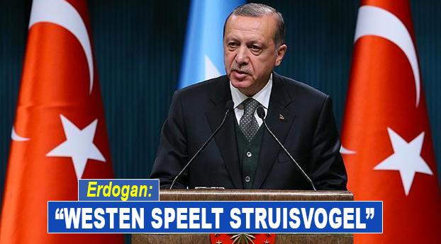 "Erdogan over hongersnood in Afrika: ""Westen speelt struisvogel"""