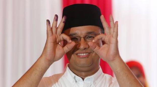 Moslimkandidaat wint verkiezingen Jakarta