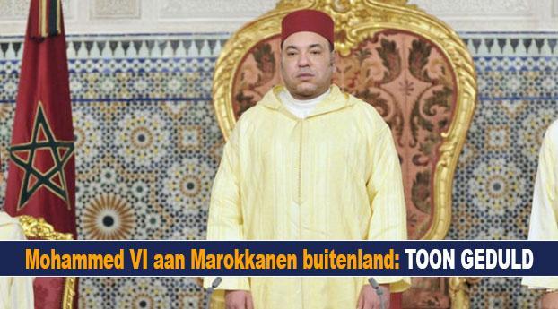 Mohammed VI aan Marokkanen buitenland: toon geduld