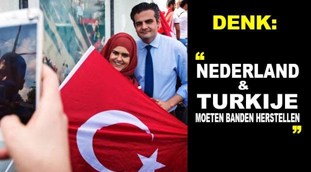 """DENK: """"Nederland en Turkije moeten banden herstellen"""""""