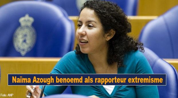 Naïma Azough benoemd als rapporteur extremisme
