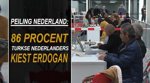Peiling: 86% Turkse Nederlanders kiest straks voor Erdo...