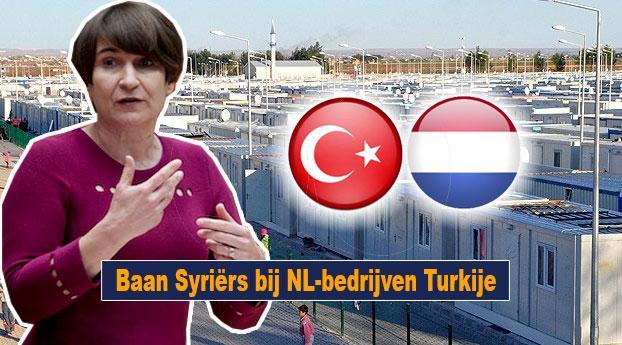 Baan Syriërs bij NL-bedrijven Turkije