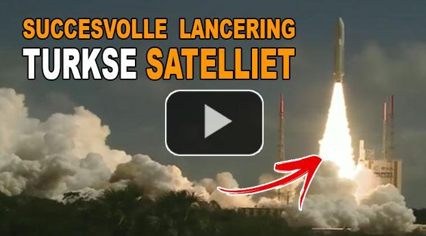 Turkse inlichtingensatelliet GÖKTÜRK-1 gelanceerd