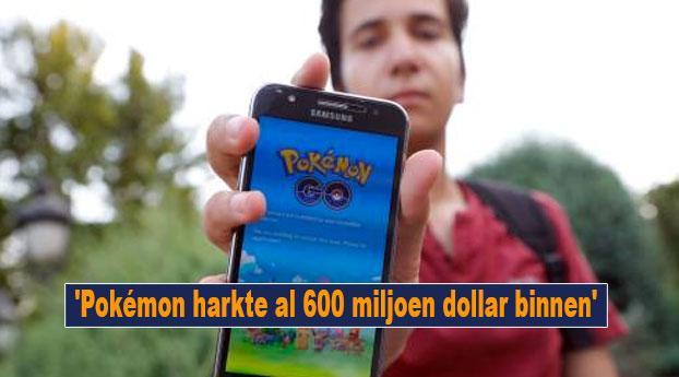 'Pokémon harkte al 600 miljoen dollar binnen'