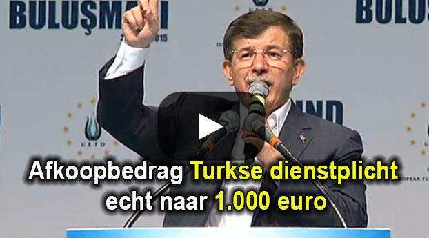 Afkoopbedrag dienstplicht wellicht naar 1.000 euro