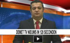 Demet TV - Nieuws in 120 seconden (maandag 27 mei 2013)