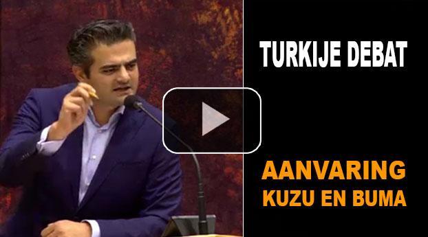 Turkije debat: aanvaring Kuzu (DENK) en Buma (CDA)