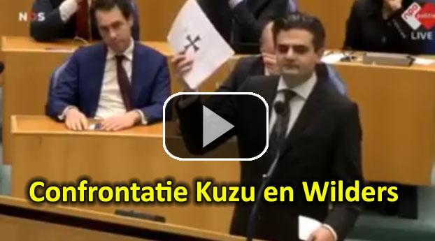 Confrontatie Kuzu en Wilders