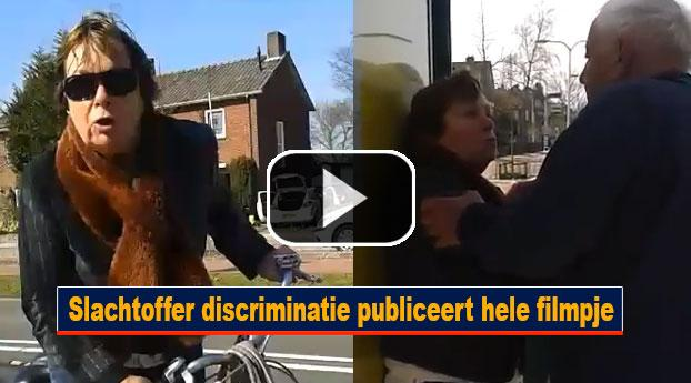 Slachtoffer discriminatie publiceert hele filmpje