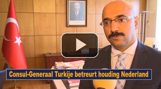 Turkse Consul-Generaal Rotterdam betreurt houding Nederland