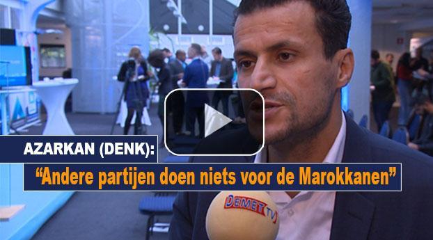 Azarkan (DENK): Andere partijen doen niets voor de Marokkanen