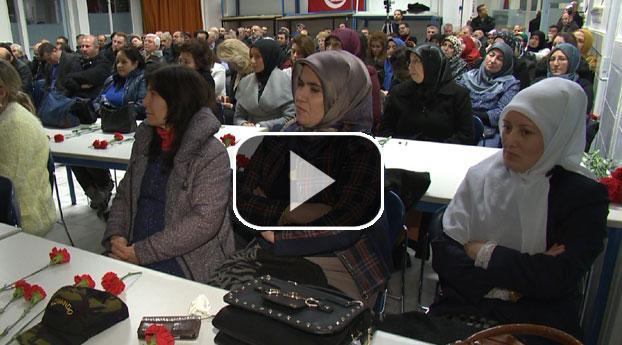 Haagse Turken herdenken slachtoffers Baku