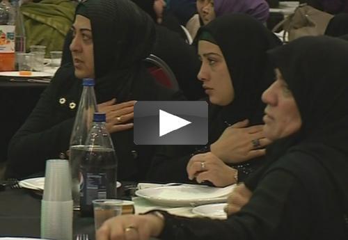 Moslims Nederland herdenken Imam Huseyin