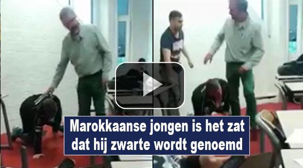 Marokkaanse jongen is het zat dat hij zwarte wordt genoemd