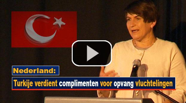 Nederland: Turkije verdient complimenten voor opvang vluchtelingen