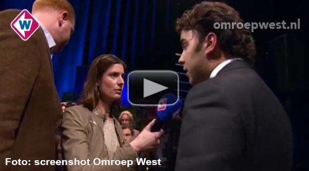 Haags PVV-lijsttrekker loopt boos weg bij live debat