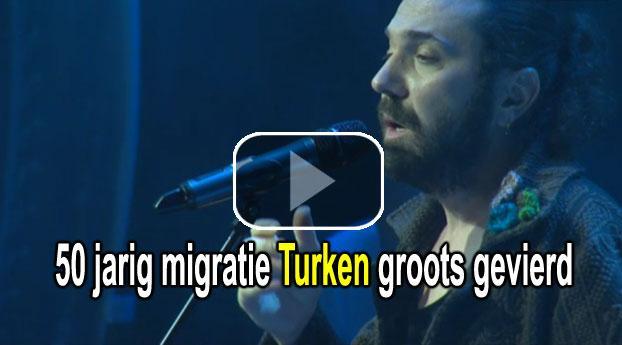 50 jarig migratie Turken groots gevierd