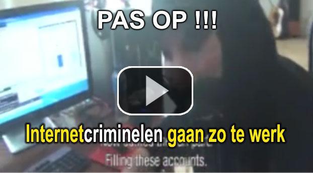 Nederlandse internetcriminelen gaan zo te werk