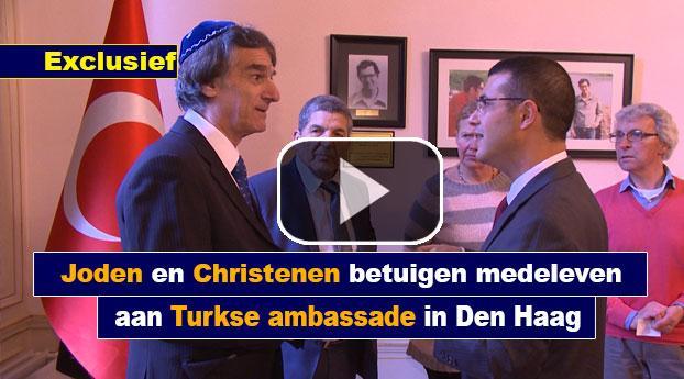 Joden en Christenen betuigen medeleven aan Turkse ambassade